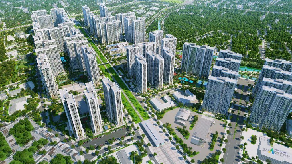 VINHOMES SMART CITY TAY MO – DAI MO